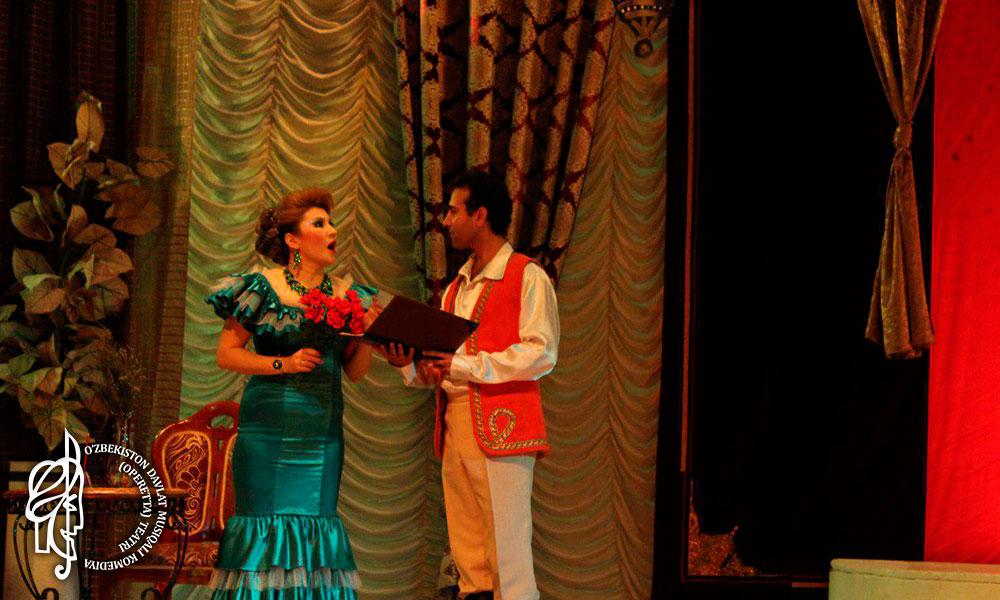 Оперетта «Марица» в Театре Оперетты.